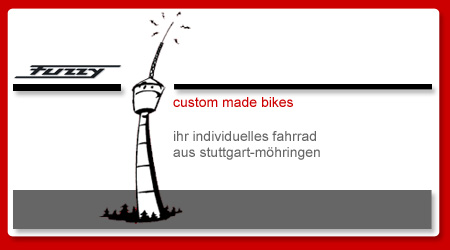 fuzzy - custom made bikes